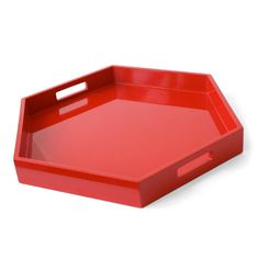 Lacquer Hexagon Tray - Jonathan Adler