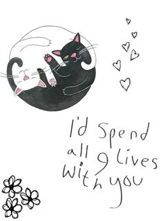 cats, tattoo idea, anim, place cards, a tattoo, quot, thing, spend, live