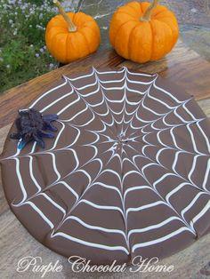 Purple Chocolat Home: Spider Web Bark