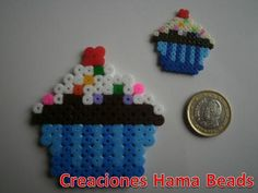 Cupcakes hama midi and mini beads
