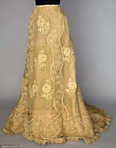 Skirt by Jacques Doucet, 1900s, Augusta Auctions, via OMG That Dress!