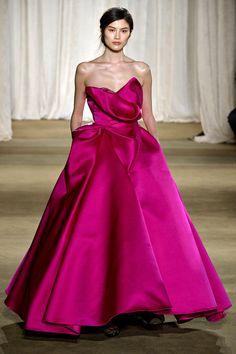 Marchesa #nyfw !!!!!!! fashion weeks, princess style, runway fashion, ball gowns, color, bridesmaid dresses, marchesa, new york fashion, fall 13