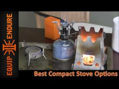 Best Compact Stove Options http://rethinksurvival.com/posts/best-compact-stove-options-video/