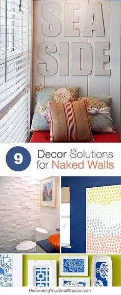 9 Decor Solutions for Naked Walls • Ideas & Tutorials!