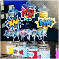 Superhero Party with Lots of Fun Ideas via Kara's Party Ideas | KarasPartyIdeas.com #SuperheroParty #Party #Ideas #Supplies (1)