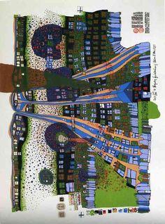 Hundertwasser - landscape