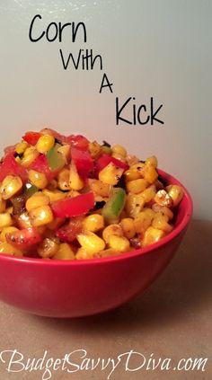Corn With A Kick Recipe.. yum yum yum