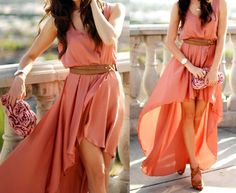 summer dresses, maxi dresses, fashion, high low dresses, color, outfit, the dress, hello summer, highlow