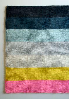cute crochet blanket  - the purl bee