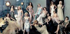 2004: Julianne Moore, Jennifer Connelly, Gwyneth Paltrow, Naomi Watts, Salma Hayek, Jennifer Aniston, Kirsten Dunst, Diane Lane, Lucy Liu, Hilary Swank, Alison Lohman, Scarlett Johansson, Maggie Gyllenhaal