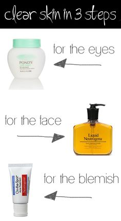 Three Step Beauty Routine