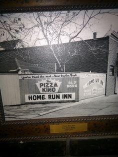 Original home run inn advertisement for Home run inn