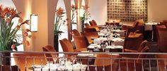 Indigo restaurant at One Aldwych Hotel, London.