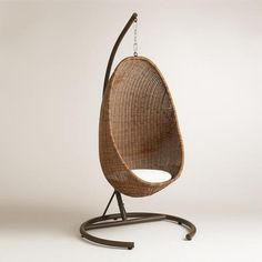 One of my favorite discoveries at WorldMarket.com: Hanging Egg Chair