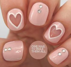 One Nail To Rule Them Al  | See more at http://www.nailsss.com/colorful-nail-designs/3/