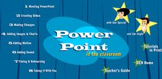Join talkshow hosts, Jim and Sue, and learn how Microsoft PowerPoint can add multimedia ZING! to any classroom.
