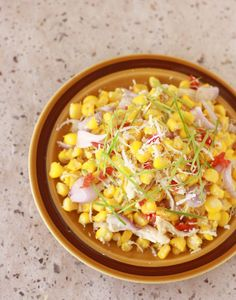 Thai sweet corn salad