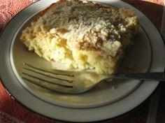 Pennsylvania Dutch Crumb Cake