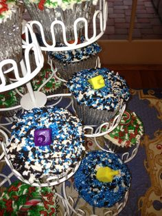 Hannukah Cupcakes