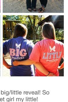 Big/Little Shirts!