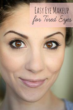 Eye Makeup for Tired Eyes