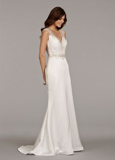 Bridal Gowns, Wedding Dresses by Ti Adora - Style 7406