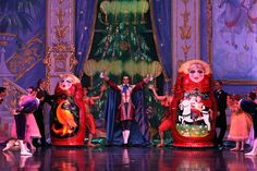 #Enter to #win #tickets and $200 of gifts! What dolls jump out of this over-sized #Matrushka Doll? Answer at www.nutcracker.com/enter-to-win