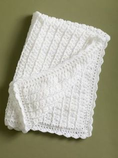 Classic Coverlet, free crochet pattern on Lion Brand