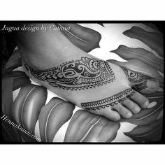 Body art ... Jagua temporary tattoos