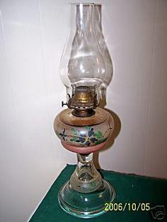 Antique Oil Lamp...