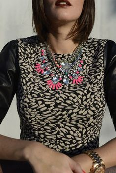 Miss Black Book layering necklaces