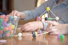gum drop building-game idea gumdrop, marshmallow, activities for kids, excit kid, candies, buildings, fine motor, gum drop, art projects