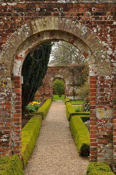 walled garden at Felbrigg Hall, Norfolk, photo: Dave M.