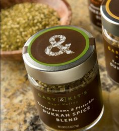Dukkah Spice Blend Trio 2.5oz jar of Savory Coconut, Classic Hazelnut and Toasted Sesame & Pistachio  $30/set
