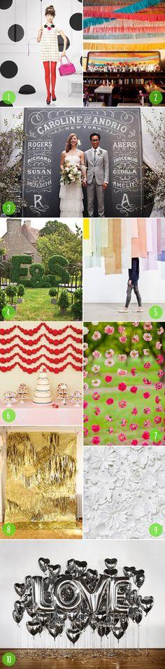 Modern wedding backdrop top 10