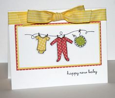 Stamps used - Clothesline Greetings