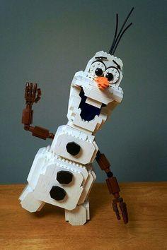 lego olaf, lego frozen, frozen legos