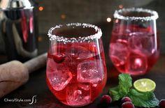 Cranberry mojito wit