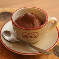 My paleo chocolate mousse recipe, check it out!