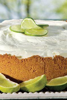 Key Lime Ice Cream Pie on PaulaDeen.com