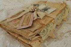 Tattered Treasures: A Shabby Mini Album Tutorial