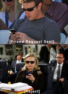 Hillary Clinton texts.