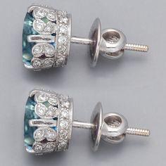 tiffany blue, stud earrings, something blue