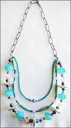 interchangeable necklace idea