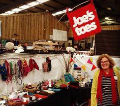 Joe's Toes - stall at Yarndale 2014 - what a fantastic fair!