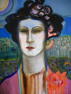 ♀ Painted Art Portraits ♀ Selma Weissmann