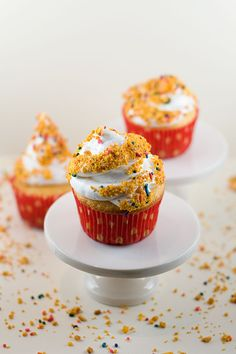 Dairy Queen Cupcakes » With Sprinkles on Top