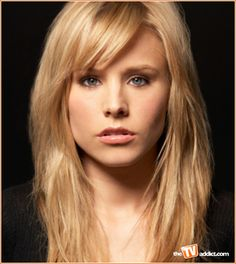 Kristen Bell. This hairstyle.