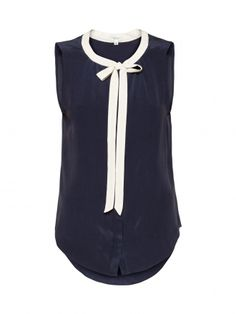 Aritzia T.Babaton sleeveless Sabrina blouse... Yes, I want this for my upcoming conference.
