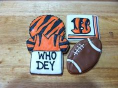 who dey cookies for a football party